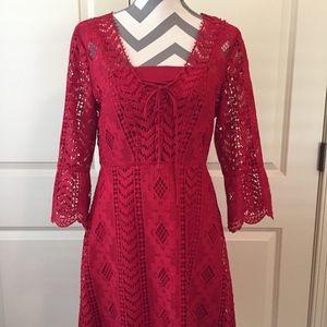Gianni Bini crochet dress